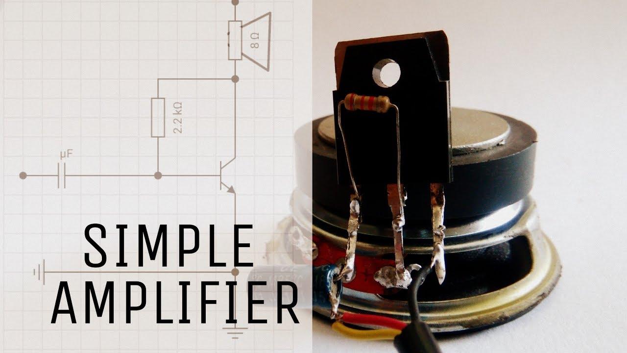 Sound Simple Audio Amplifier Auto Electrical Wiring Diagram Surroundaudioamplifiercircuitdiagramjpg How To Make
