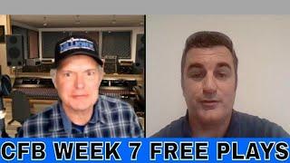 NCAAF Week 7 Picks and Predictions | TCU vs Oklahoma | NC State vs Boston College | Tulsa vs USF