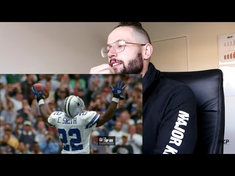 Rugby Player Reacts to EMMITT SMITH NFL Top 100 Greatest Players YouTube Video!