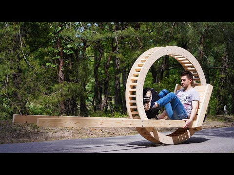 Making a Monowheel out of Wood
