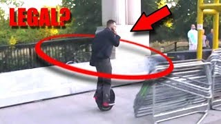 Hoverboards & E-Scooters - Are they Legal?