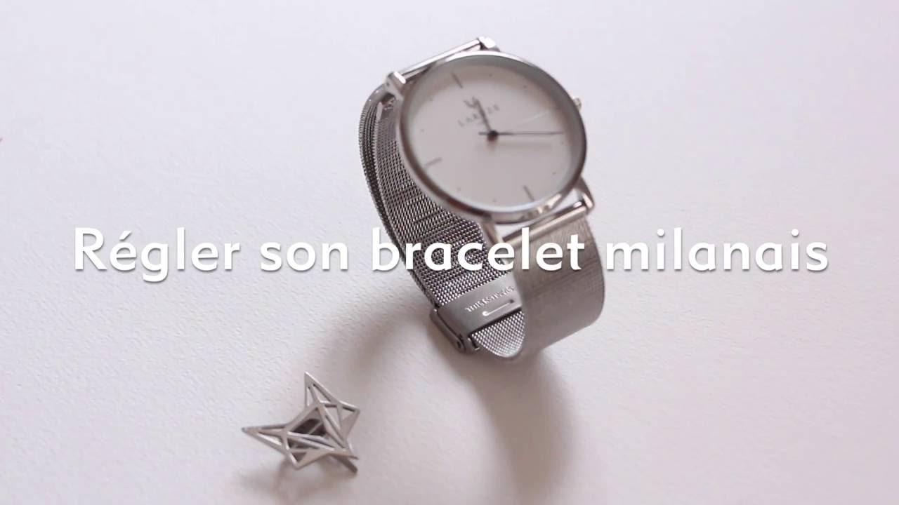 Régler Son Régler Régler Son Milanais Milanais Bracelet Son Bracelet jLA54R