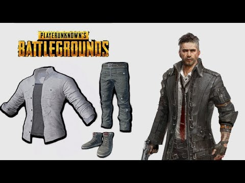 School Shirt (Open) & Cargo Pants (Khaki) [PlayerUnknown's Battlegrounds skins | PUBG]