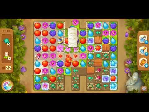 Gardenscapes level 4400