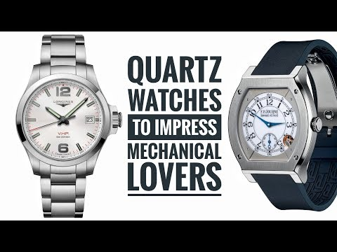 Quartz Watches to Impress Mechanical Watch Lovers | Armand The Watch Guy