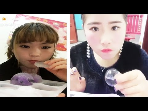 [ASMR NO TALKING] Ice Eating ASMR - (Eat the whole word) / Ice Chewing #119