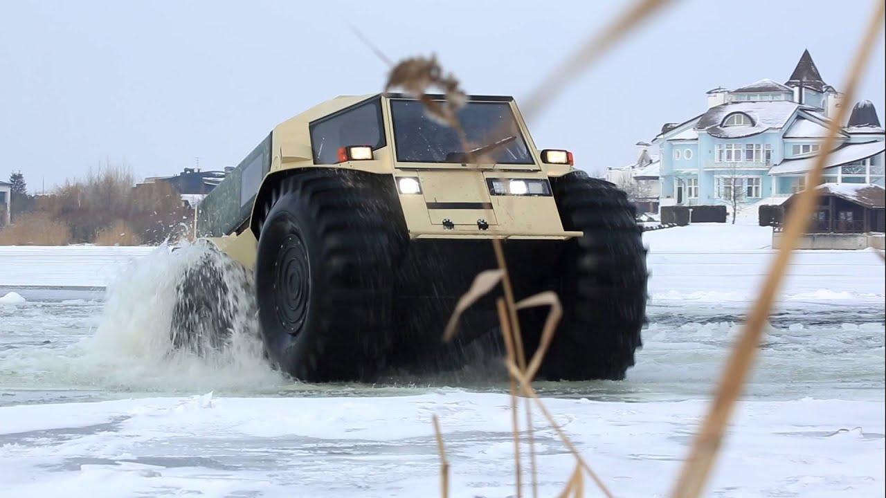 SHERP - cywilna amfibia rosyjskiej produkcji