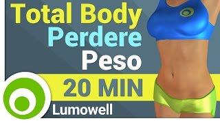Esercizi Total Body per perdere Peso