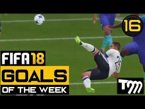 Fifa 18 - TOP 10 GOALS OF THE WEEK #16 (Best Fifa 18 Goals)