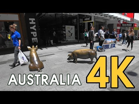 【4K WORLD TOUR AUSTRALIA】 View Walking Trail Rundle Mall - Place To Visit In Adelaide