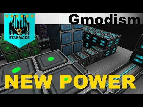 StarMade - Exploring the new power system and reactor chamber effects