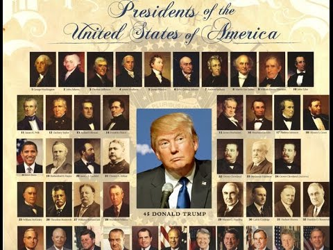 list of presidents of the united states 2016