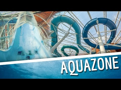 Aquazone / National Aquatic Centre - All Water Slides Onride
