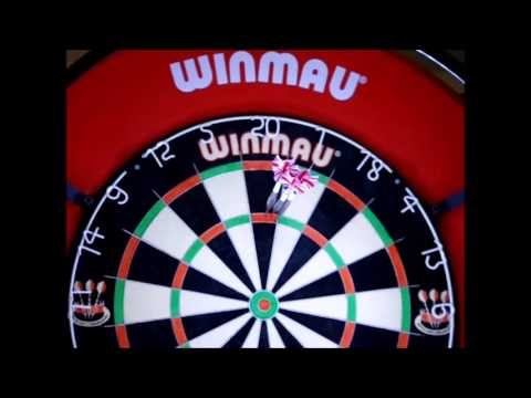 Testing the new Target dartboard lighting system - YouTube