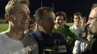 Woodstock Academy ECC boys soccer champions