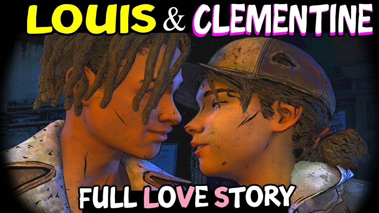 Download Louis & Clementine (FULL LOVE STORY) The Walking Dead The Final Season All Episodes - Louis Romance