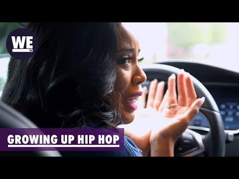 Angela Breaks Down After Speaking with Darian  Growing Up Hip Hop  WE tv