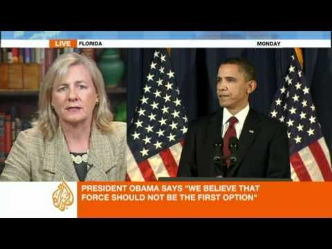 Nancy Soderberg speaks to Al Jazeera