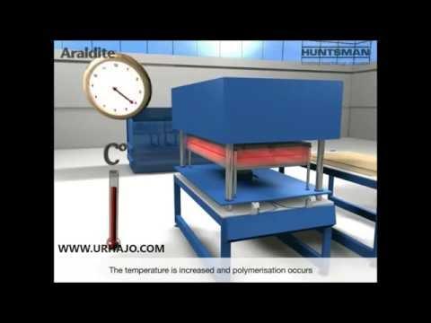 Prepreg press moulding [Araldite - Huntsman]