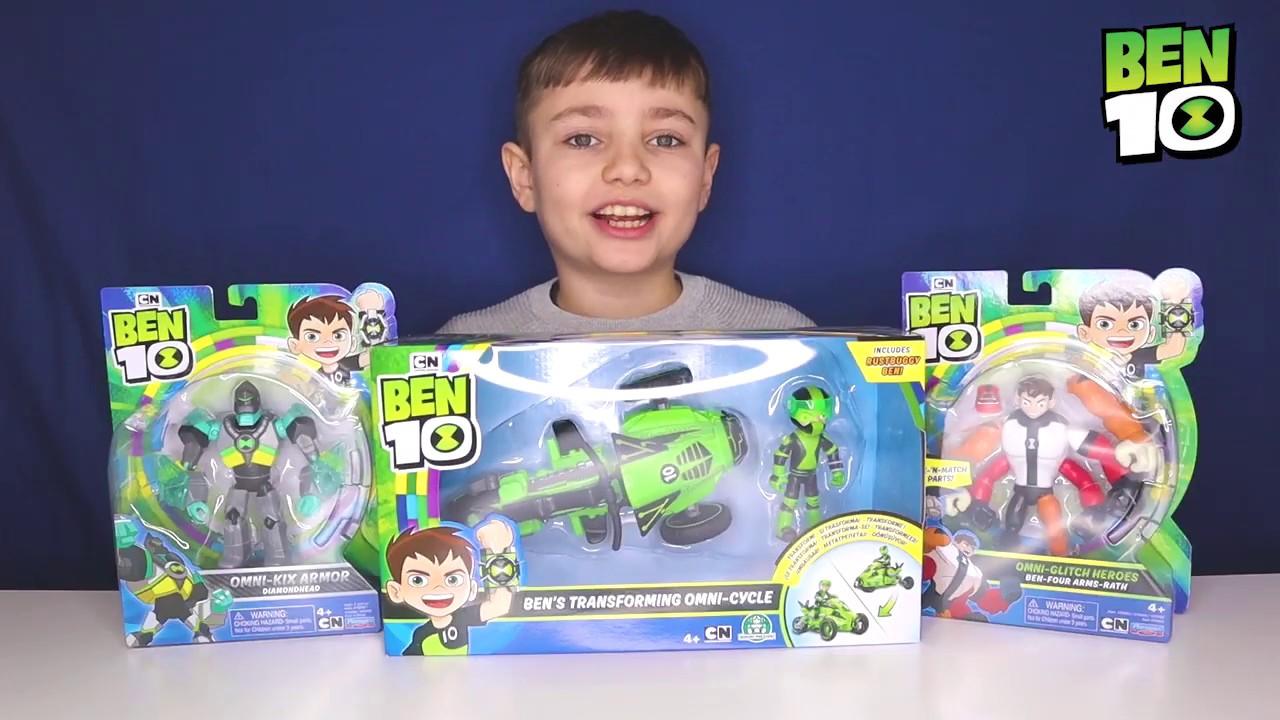 Ben 10 BEN48000 Bens Transforming Omi-Cycle