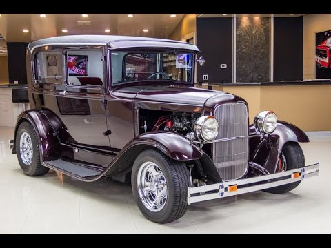 1930 Ford Model A Tudor Sedan Street Rod For Sale