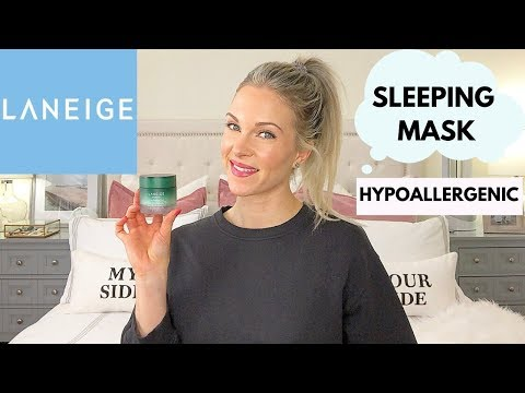 Hypoallergenic Cica Sleeping Mask by Laneige #16