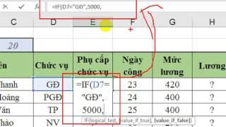 Các hàm trong Excel - HƯỚNG DẪN HỌC EXCEL - Cách làm bài tập Excel