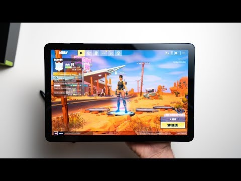 Samsung Galaxy Tab S4: Fortnite Gameplay On Android Tablets