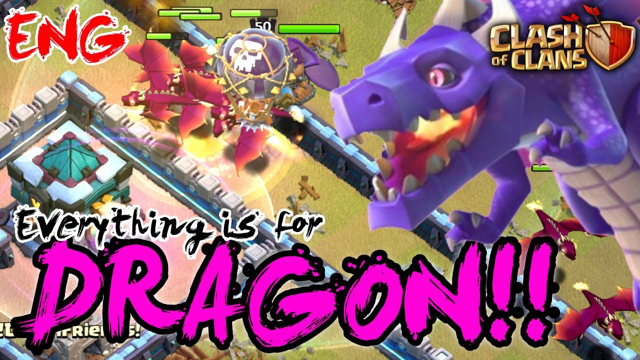 [COC(ENG)] How to make a plan for DRAGON?? Hero is not protagonist!!