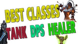 7.3.5 BEST CLASSES (Tanks | Healers | DPS) | Antorus & Mythic+ Rankings | Top Class & Spec Ranked