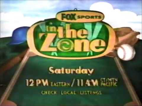 Fox Sports  In The Zone Commercial 1990's