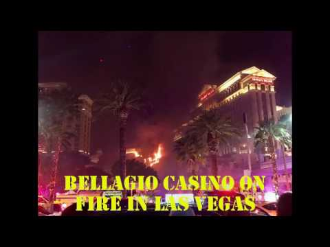 fire in las vegas casino