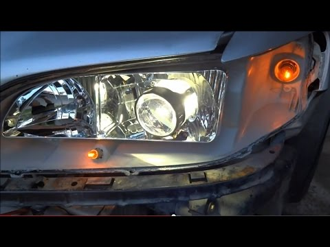 How to Retrofit A Headlight (1998-2002 Honda Accord 6th gen.) DIY - YouTube