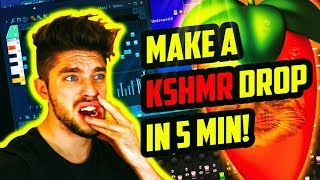 KSHMR STYLE IN 5 MINUTES CHALLENGE [WARNING: NOICE]