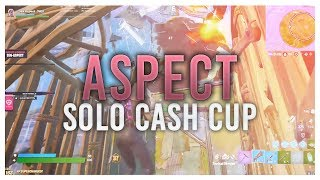 [VOD REVIEW] Aspect Solo Cash Cup: Using your Power Weapons, Shotgun/Pickaxe Walltaking Combo