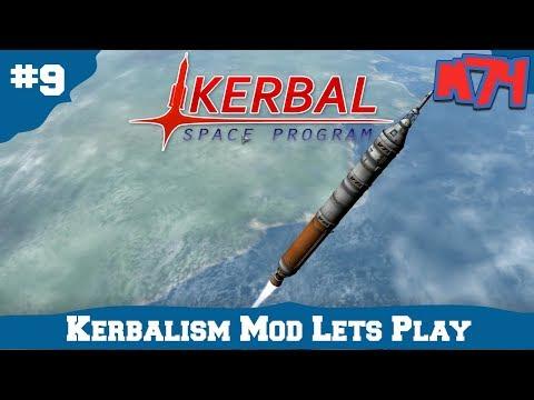Kerbal Space Program Kerbalism: Rebuilding Space Corps!. [S3:E9]