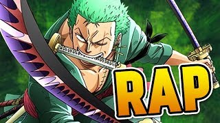 "ZORO RAP | ""Three Sword Strike"" | RUSTAGE (ONE PIECE RAP)"
