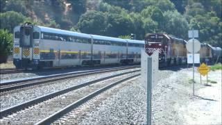 Trainspotting Amtrak California