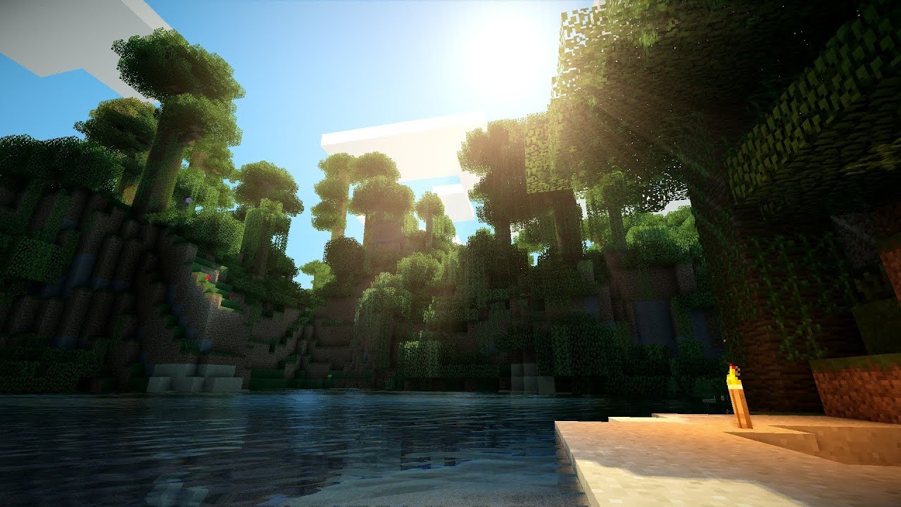 Minecraft Shaders Wallpapers Hd For Windows 10: Minecraft Shader 1.7.2 On GTX 770 [HD]