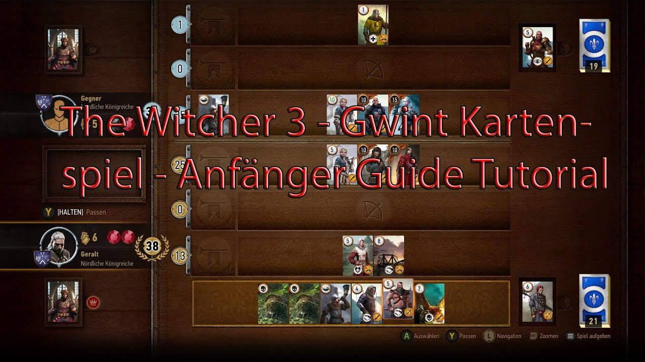 Witcher 3 Gwint