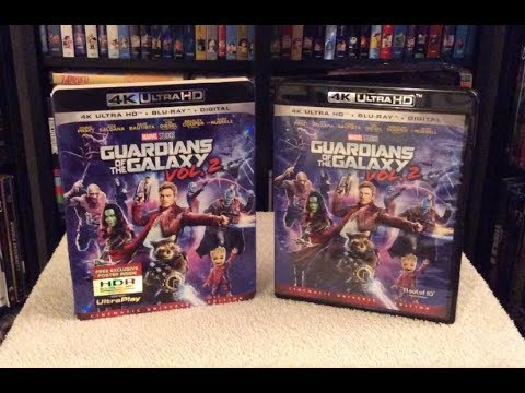 Guardians of the Galaxy Vol. 2 4K BLU RAY UNBOXING + Review