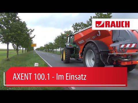 RAUCH AXENT 2015 - Präzisions-Großflächenstreuer - Schnellwechselsystem
