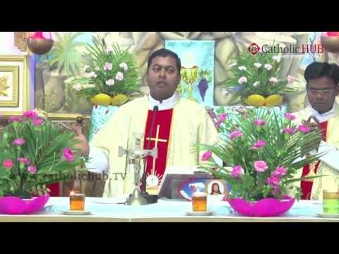 Holy Mass at SFS CHURCH,SHANTHINAGAR, HYD,TS,INDIA,15-08-2015.HD