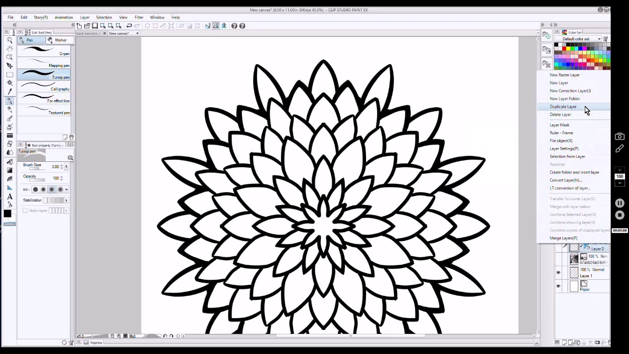 def30758d6674 How to Draw a Negative Mandala Tattoo Design