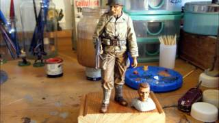 120mm US RANGER FINISHED with base makeing pics