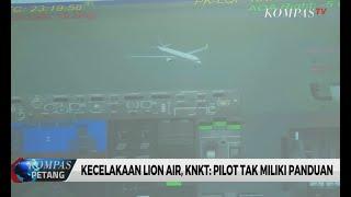 Misteri Jatuhnya Lion JT-610, KNKT Beberkan Hasilnya