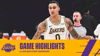 HIGHLIGHTS | Los Angeles Lakers vs Golden State Warriors