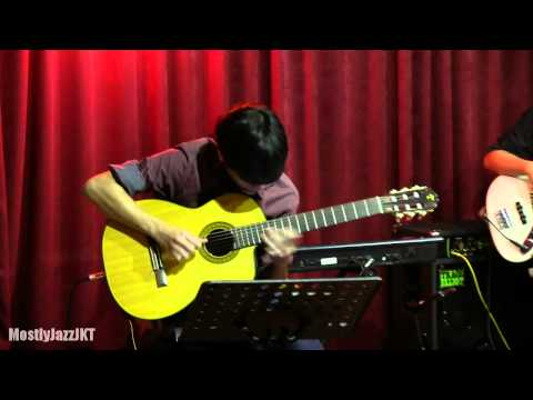 Indra Lesmana Ft. Eva Celia - Ironi @ Mostly Jazz 31/01/14 [HD]