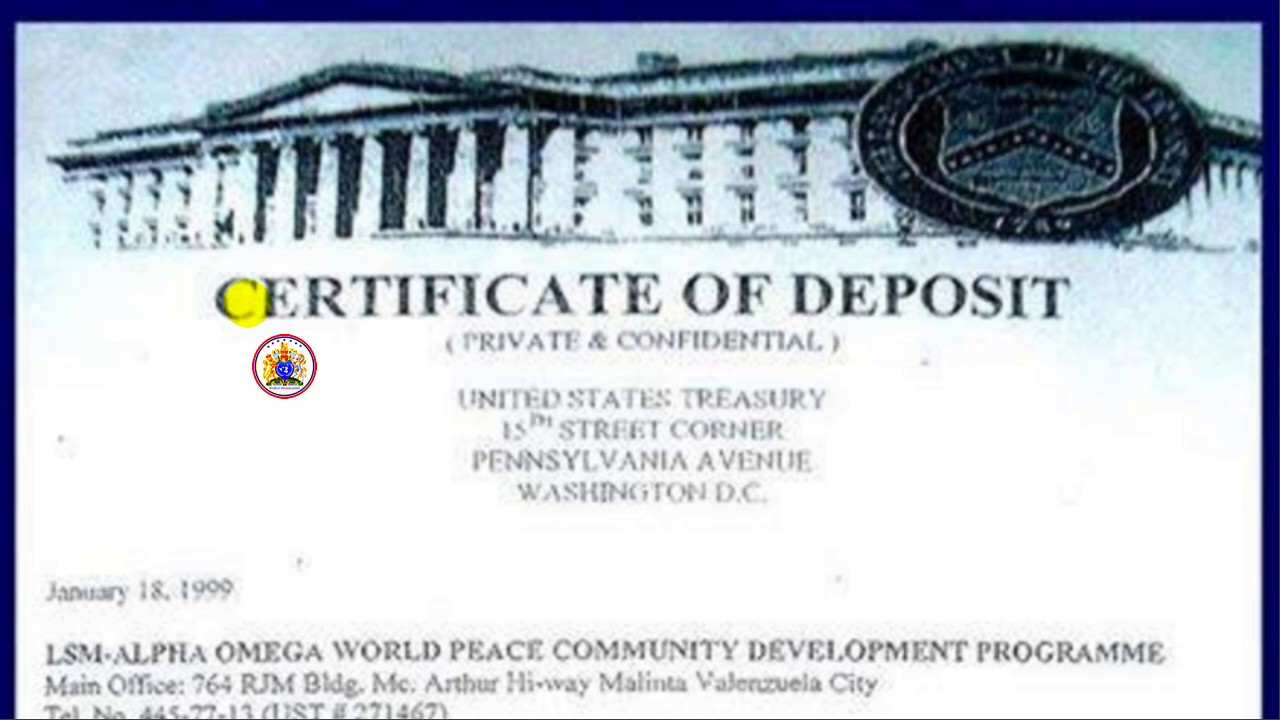 Tvm lsm 666 certificate of deposit at us treasury youtube tvm lsm 666 certificate of deposit at us treasury xflitez Images