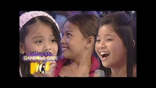 GGV: Lyca, Elha and Esang sing Christmas Carols